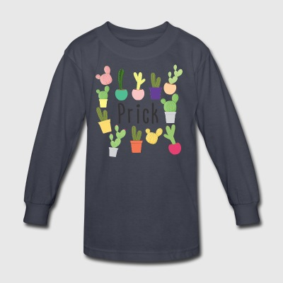 Prick - Kids' Long Sleeve T-Shirt