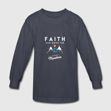 Christian Quote - Kids' Long Sleeve T-Shirt