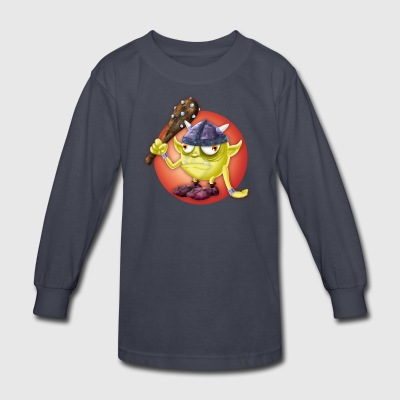 Gnome 2 - Kids' Long Sleeve T-Shirt