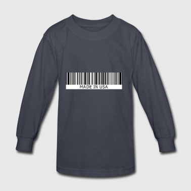 Made in USA - Kids' Long Sleeve T-Shirt