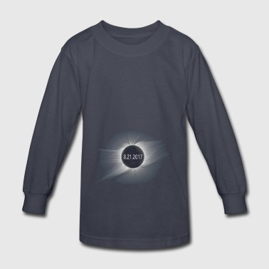 Total Solar Eclipse7 - Kids' Long Sleeve T-Shirt