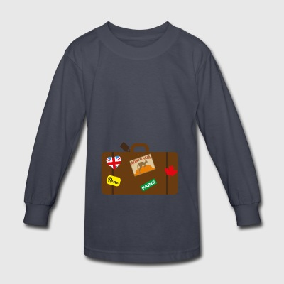 suitcase - Kids' Long Sleeve T-Shirt