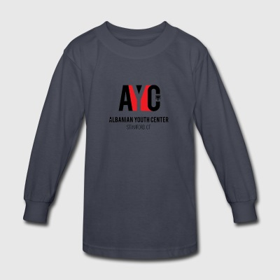 Albanian Youth Center - Kids' Long Sleeve T-Shirt