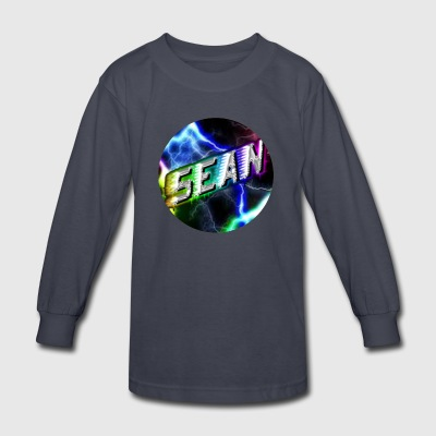 Sean Morabito YouTube Logo - Kids' Long Sleeve T-Shirt