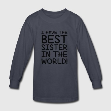 Idea For Brothers - Kids' Long Sleeve T-Shirt