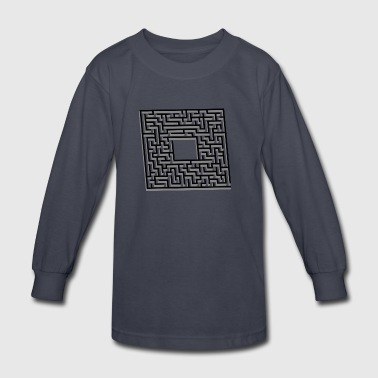 labyrinth - Kids' Long Sleeve T-Shirt