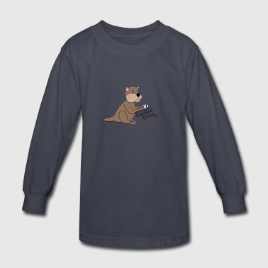 Significant otter - Kids' Long Sleeve T-Shirt