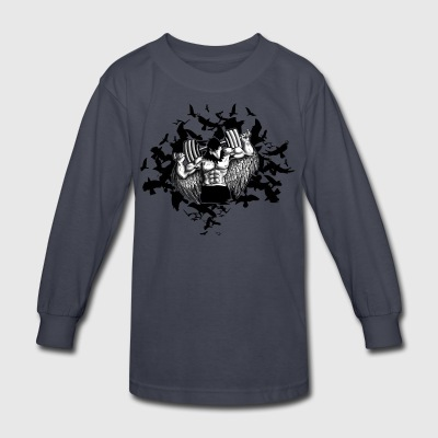 raven - Kids' Long Sleeve T-Shirt