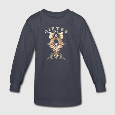 GIFTED Cult statue - Kids' Long Sleeve T-Shirt