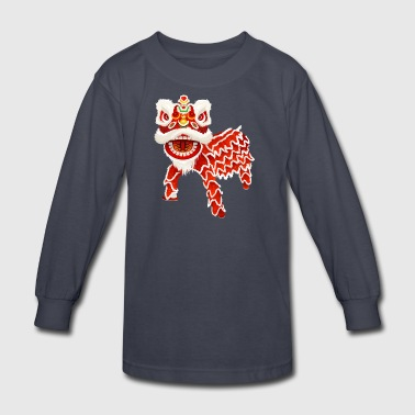 chinese_new_year_dragon - Kids' Long Sleeve T-Shirt