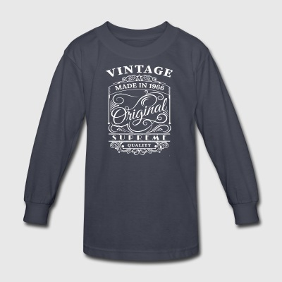 Vintage Made in 1966 Original - Kids' Long Sleeve T-Shirt