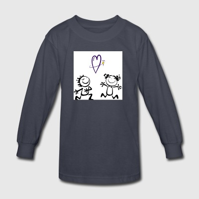 Cute mugs - Kids' Long Sleeve T-Shirt