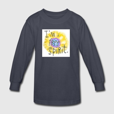 free spirit - Kids' Long Sleeve T-Shirt