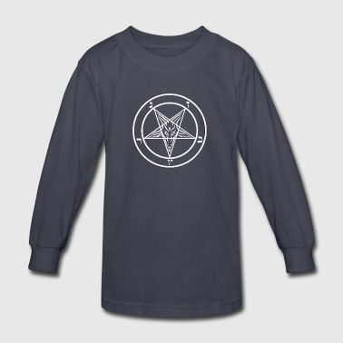 Satanic Pentagram - Kids' Long Sleeve T-Shirt