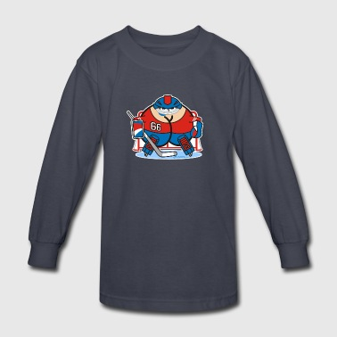 Assmex ice hockey goalie - Kids' Long Sleeve T-Shirt