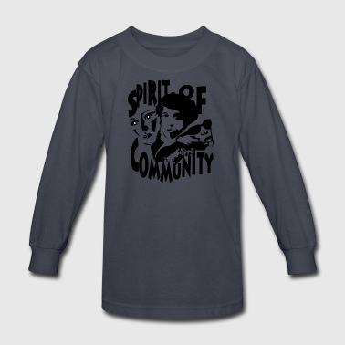 SPIRIT OF CUMMUNITY - Kids' Long Sleeve T-Shirt