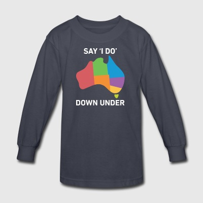lgbt - say i do - Kids' Long Sleeve T-Shirt