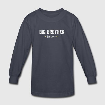 Big brother Est 2017 - Kids' Long Sleeve T-Shirt