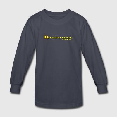 Remington Reeves Full Logo - Kids' Long Sleeve T-Shirt