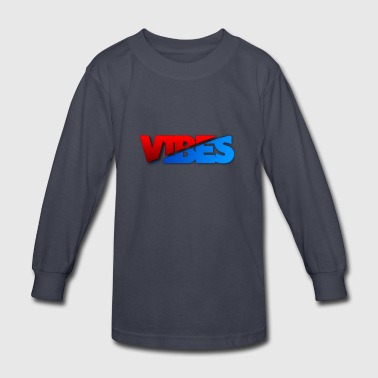 Sick Red And Blue Logo - Kids' Long Sleeve T-Shirt