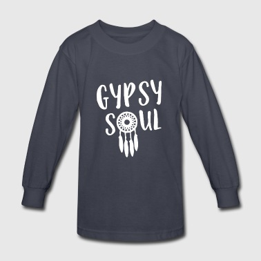 Gypsy soul - Kids' Long Sleeve T-Shirt