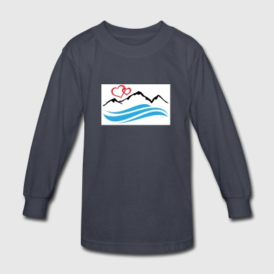Lake Tahoe - Kids' Long Sleeve T-Shirt