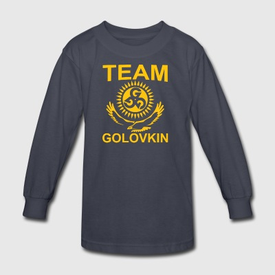 Team GGG Golovkin - Kids' Long Sleeve T-Shirt