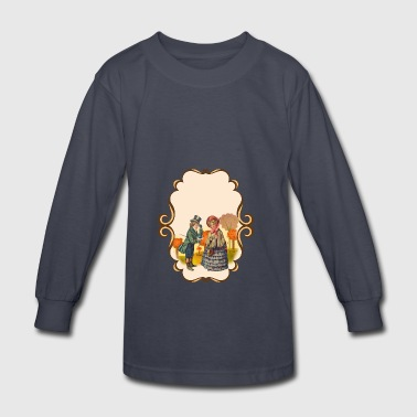 Magic Vintage Scene - Kids' Long Sleeve T-Shirt