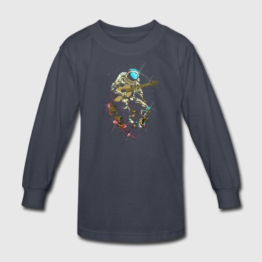 Lonely Man - Kids' Long Sleeve T-Shirt