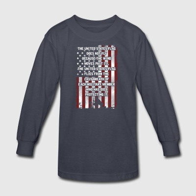 The United States Flag - Kids' Long Sleeve T-Shirt