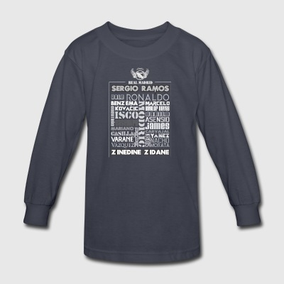 Real Madrid Design - Kids' Long Sleeve T-Shirt