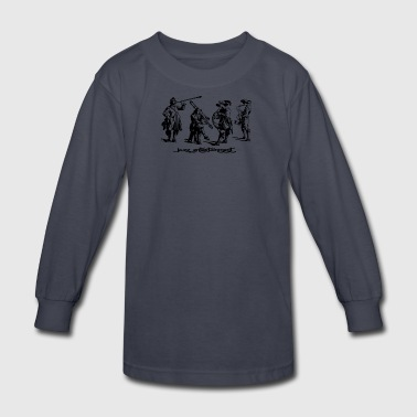 Jazz Group - Kids' Long Sleeve T-Shirt