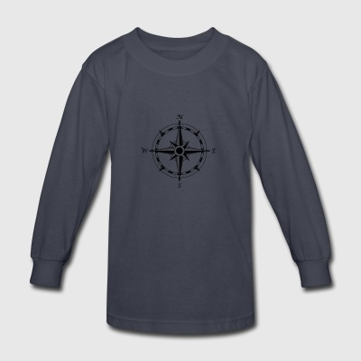 compass - Kids' Long Sleeve T-Shirt