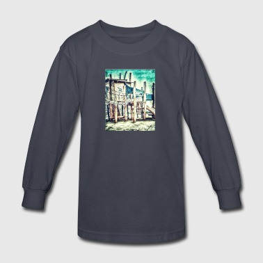 children garden - Kids' Long Sleeve T-Shirt
