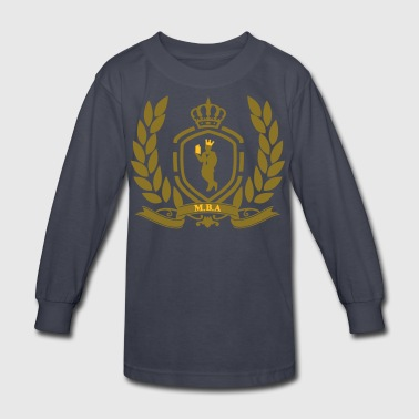 Conscious King (Crest) - Kids' Long Sleeve T-Shirt