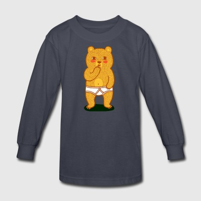 Bare Bear - Kids' Long Sleeve T-Shirt