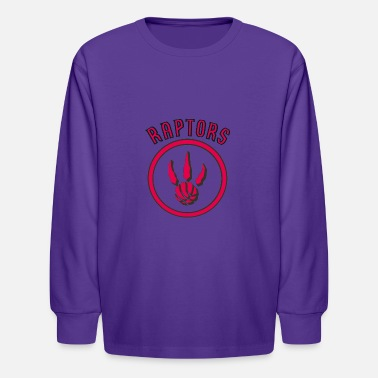 Throwback Raptors Throwback - Kids' Longsleeve Shirt