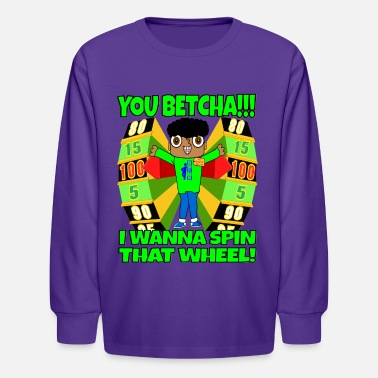 TV Game Show Contestant - TPIR (The Price Is) - Kids' Longsleeve Shirt