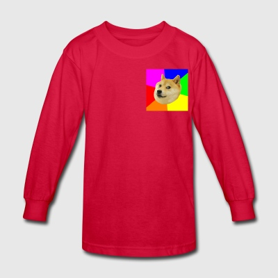 The Doge Games Logo - Kids' Long Sleeve T-Shirt