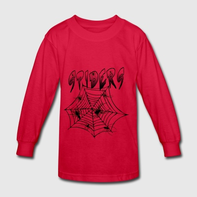 Spiders - Kids' Long Sleeve T-Shirt