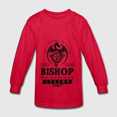 BISHOP - Kids' Long Sleeve T-Shirt