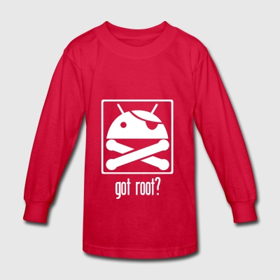 Android Root - Kids' Long Sleeve T-Shirt