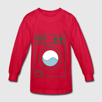 washing machine - Kids' Long Sleeve T-Shirt