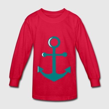 anchor - Kids' Long Sleeve T-Shirt