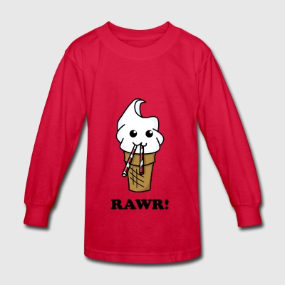 Ice cream - Kids' Long Sleeve T-Shirt