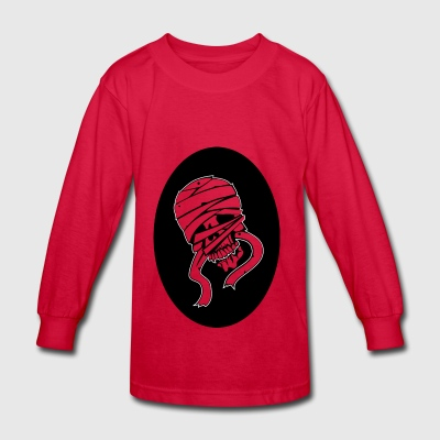 Mummy Graphic - Kids' Long Sleeve T-Shirt
