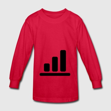 bar chart 1 - Kids' Long Sleeve T-Shirt