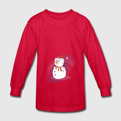 Snowman - Kids' Long Sleeve T-Shirt