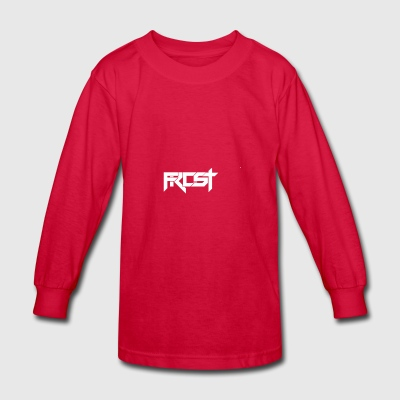 FROST TEXT LOGO - Kids' Long Sleeve T-Shirt