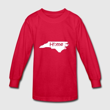North Carolina2 - Kids' Long Sleeve T-Shirt